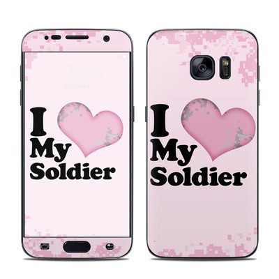 Samsung Galaxy S7 Skin - I Love My Soldier