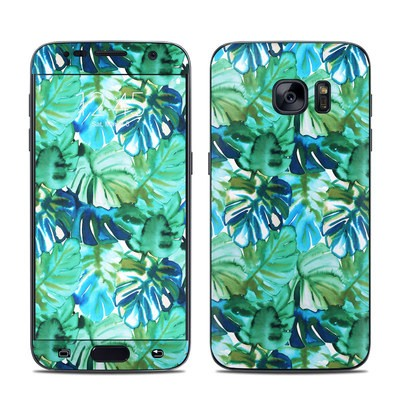 Samsung Galaxy S7 Skin - Jungle Palm