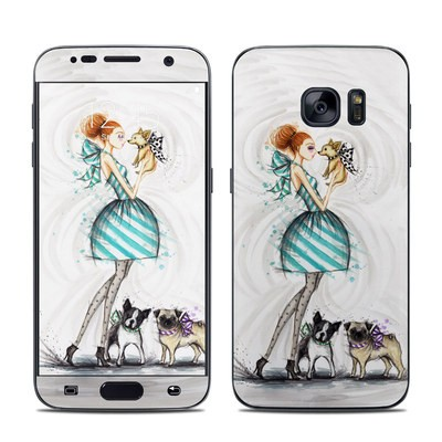 Samsung Galaxy S7 Skin - A Kiss for Dot