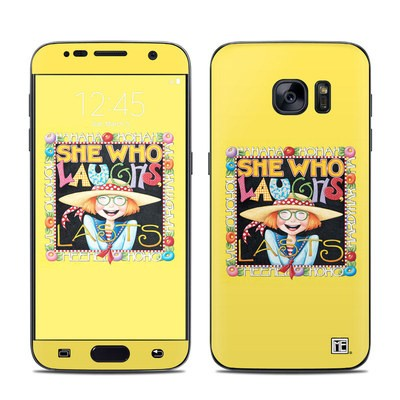 Samsung Galaxy S7 Skin - She Who Laughs