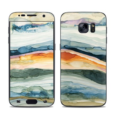 Samsung Galaxy S7 Skin - Layered Earth