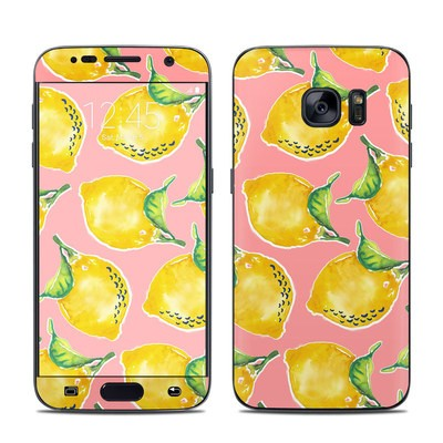 Samsung Galaxy S7 Skin - Lemon