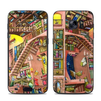 Samsung Galaxy S7 Skin - Library Magic