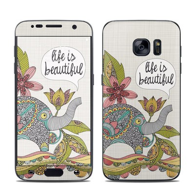 Samsung Galaxy S7 Skin - Life is Beautiful