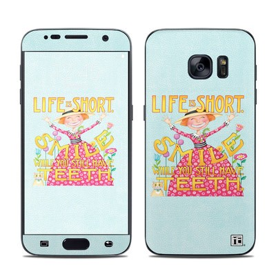 Samsung Galaxy S7 Skin - Life is Short