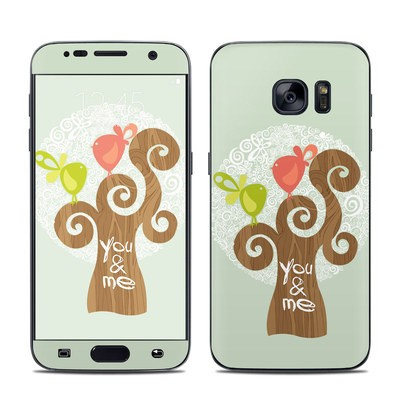 Samsung Galaxy S7 Skin - Two Little Birds