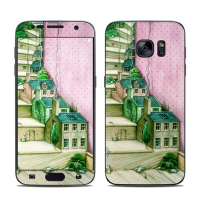 Samsung Galaxy S7 Skin - Living Stairs