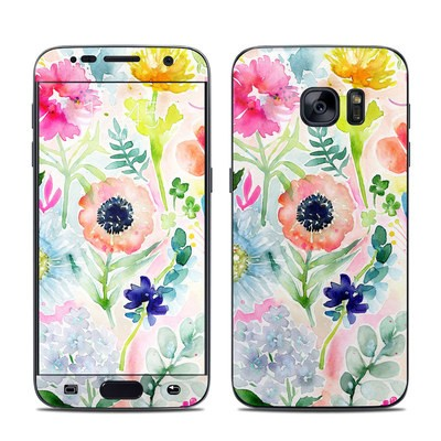 Samsung Galaxy S7 Skin - Loose Flowers