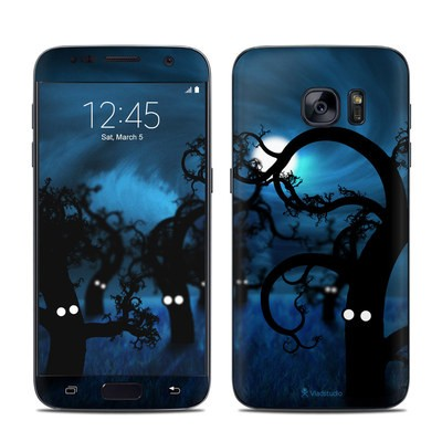 Samsung Galaxy S7 Skin - Midnight Forest