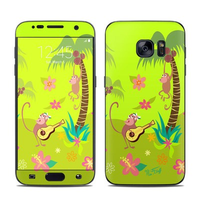 Samsung Galaxy S7 Skin - Monkey Melody