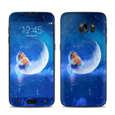 Samsung Galaxy S7 Skin - Moon Fox