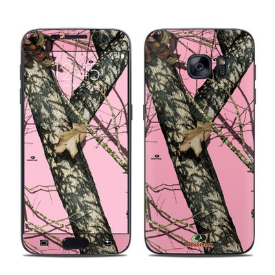 Samsung Galaxy S7 Skin - Break-Up Pink