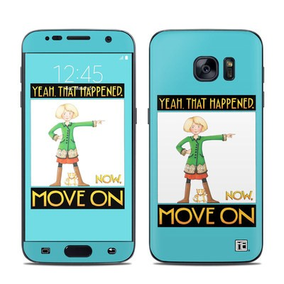 Samsung Galaxy S7 Skin - Move On