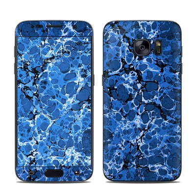 Samsung Galaxy S7 Skin - Marble Bubbles