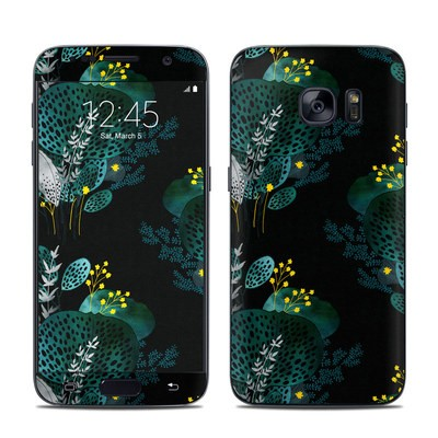 Samsung Galaxy S7 Skin - Night Seaflower