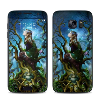 Samsung Galaxy S7 Skin - Nightshade Fairy