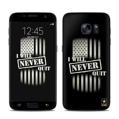Samsung Galaxy S7 Skin - Never Quit