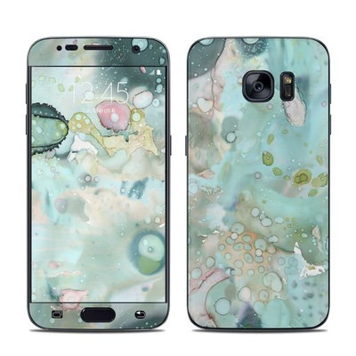 Samsung Galaxy S7 Skin - Organic In Blue