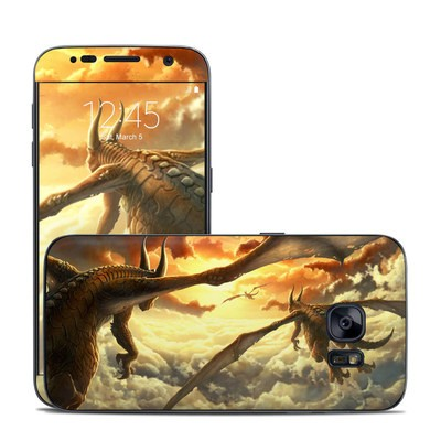 Samsung Galaxy S7 Skin - Over the Clouds