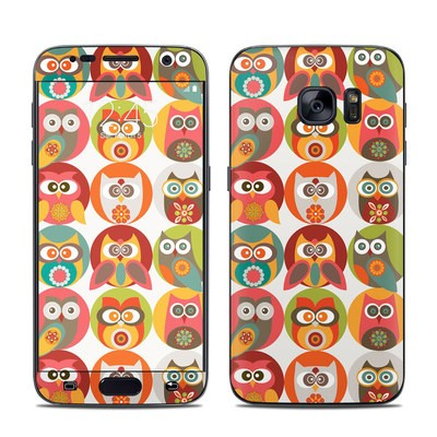 Samsung Galaxy S7 Skin - Owls Family