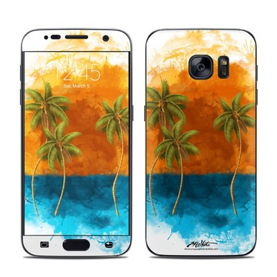 Samsung Galaxy S7 Skin - Palm Trio