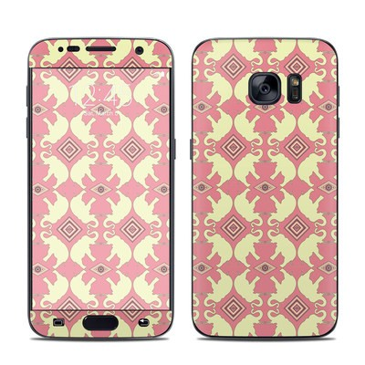 Samsung Galaxy S7 Skin - Parade of Elephants