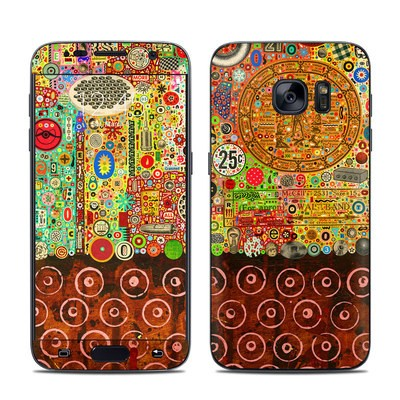 Samsung Galaxy S7 Skin - Percolations