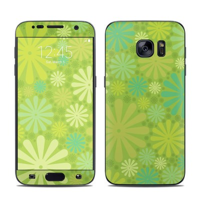 Samsung Galaxy S7 Skin - Lime Punch