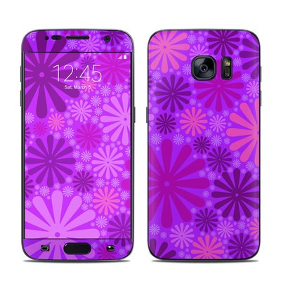 Samsung Galaxy S7 Skin - Purple Punch