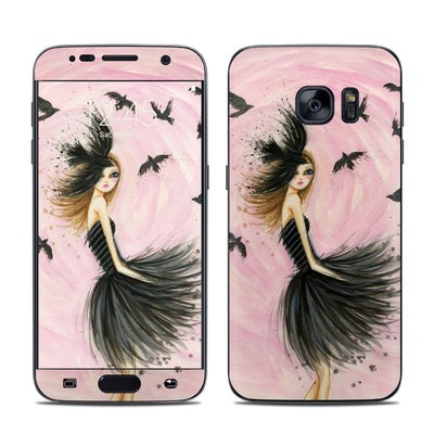 Samsung Galaxy S7 Skin - Raven Haired Beauty