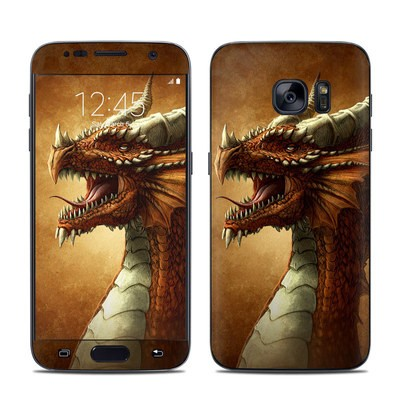 Samsung Galaxy S7 Skin - Red Dragon