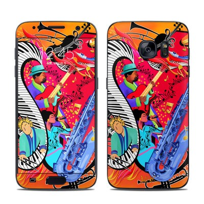 Samsung Galaxy S7 Skin - Red Hot Jazz