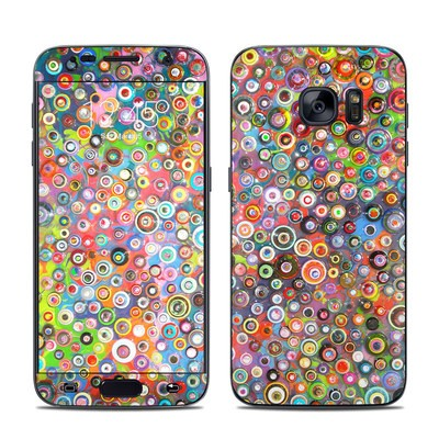 Samsung Galaxy S7 Skin - Round and Round
