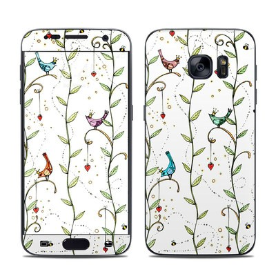 Samsung Galaxy S7 Skin - Royal Birds