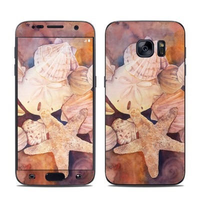 Samsung Galaxy S7 Skin - Sea Shells