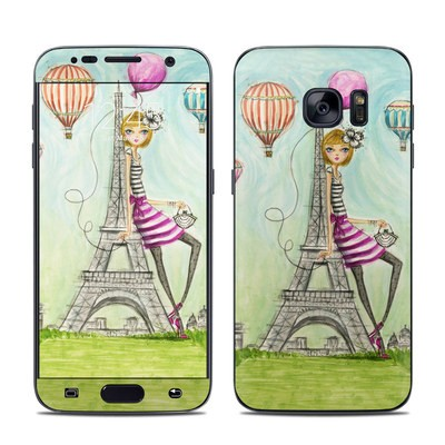 Samsung Galaxy S7 Skin - The Sights Paris