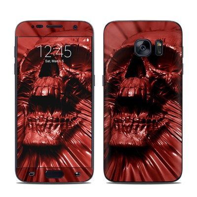 Samsung Galaxy S7 Skin - Skull Blood