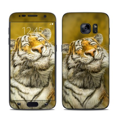 Samsung Galaxy S7 Skin - Smiling Tiger