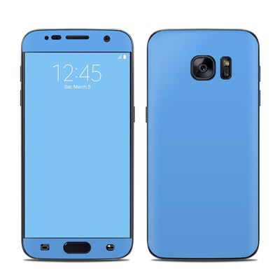Samsung Galaxy S7 Skin - Solid State Blue