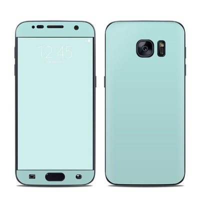 Samsung Galaxy S7 Skin - Solid State Mint