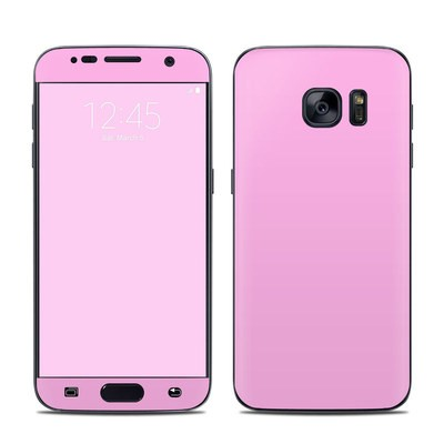 Samsung Galaxy S7 Skin - Solid State Pink