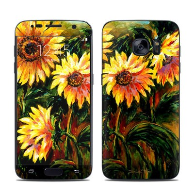 Samsung Galaxy S7 Skin - Sunflower Sunshine