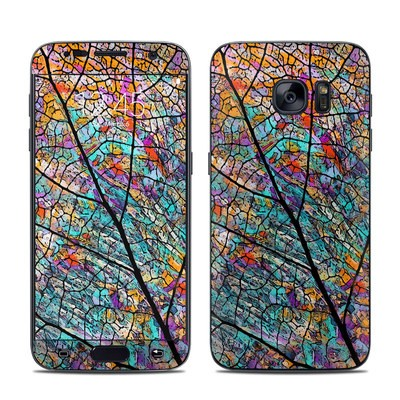Samsung Galaxy S7 Skin - Stained Aspen