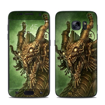 Samsung Galaxy S7 Skin - Steampunk Dragon