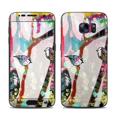 Samsung Galaxy S7 Skin - Summer Blush