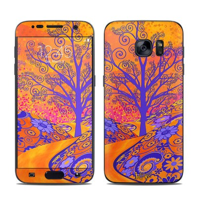 Samsung Galaxy S7 Skin - Sunset Park