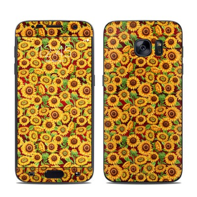 Samsung Galaxy S7 Skin - Sunflower Patch