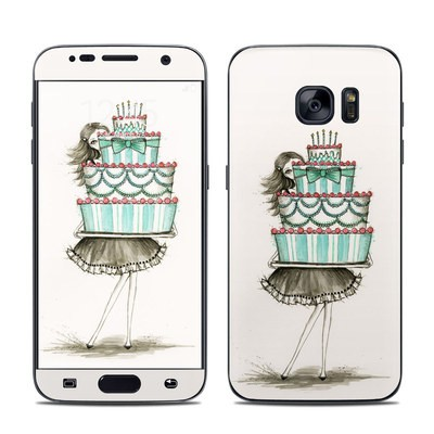 Samsung Galaxy S7 Skin - She Takes The Cake