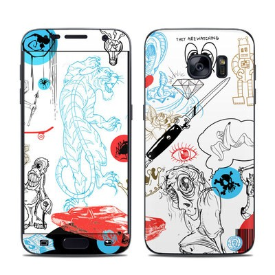 Samsung Galaxy S7 Skin - Tattoo Ink