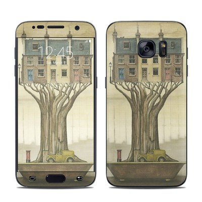 Samsung Galaxy S7 Skin - Terraced Houses